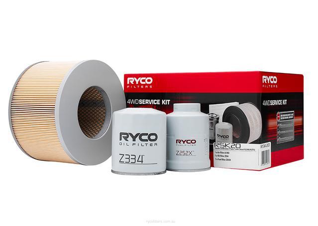 Ryco Filter Service Kit 4x4 RSK20 Sparesbox - Image 1