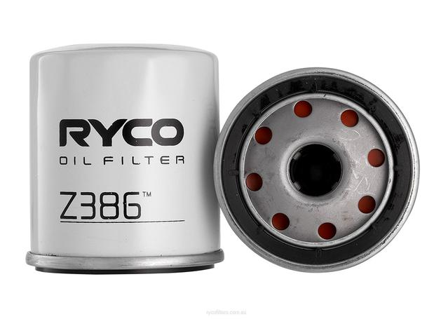 Ryco Oil Filter Z386 Sparesbox - Image 1