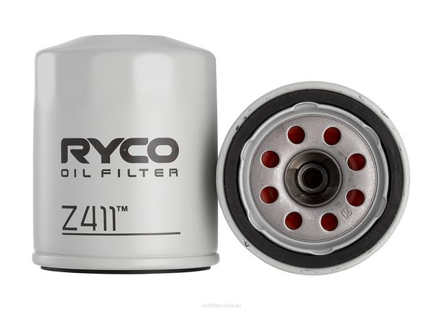 Ryco Oil Filter Z411 Sparesbox - Image 1