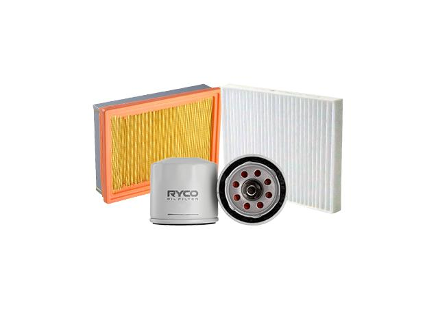 Ryco Oil Air Cabin Filter Kit - A1429-Z632-RCA187P Sparesbox - Image 1