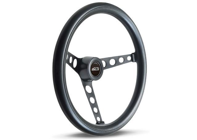 SAAS Steering Wheel GT3 Classic Foam Black 370mm 14-4311