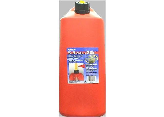 Scepter Fuel Can Plastic 20L Sparesbox - Image 1