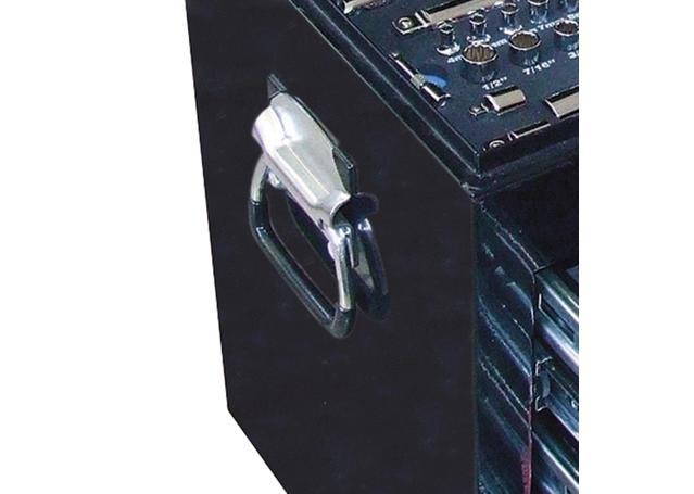 SP Tools Custom Series Tool Kit 134 Pc Metric/SAE 2 Dr Black Sparesbox - Image 5