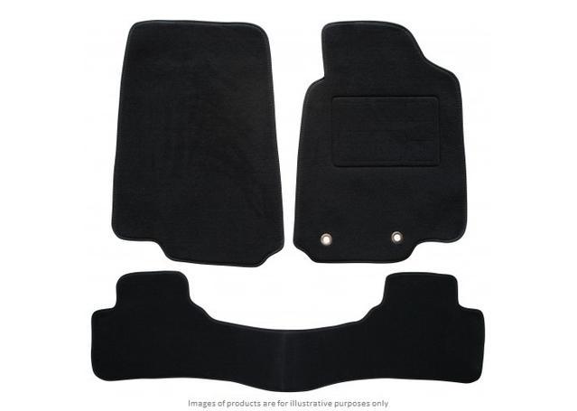 Sunland Floormats fits HOLDEN CREWMAN (VY-VZ) 3 Piece - Black Sparesbox - Image 1