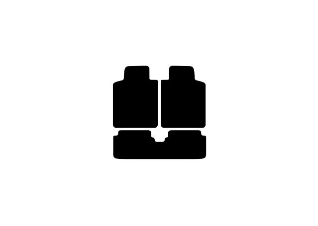 Sunland Floormats fits HOLDEN CREWMAN (VY-VZ) 3 Piece - Black Sparesbox - Image 2