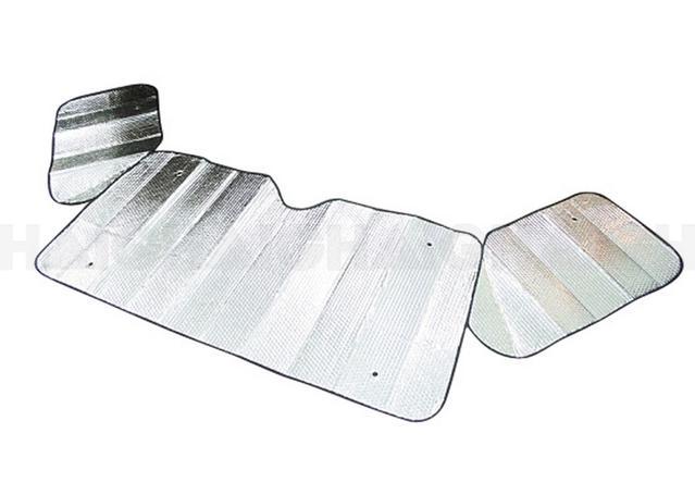 Sunland Interior Reflective Sun-Shade Silver 280x70cm - MR03SL Sparesbox - Image 1