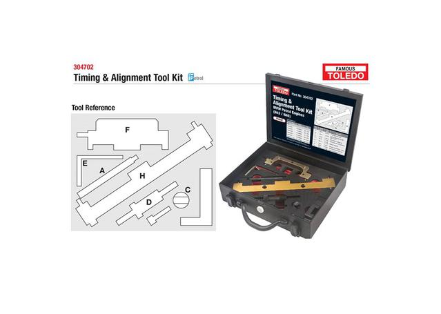 Toledo Timing Alignment Tool Kit 304702 Sparesbox - Image 1