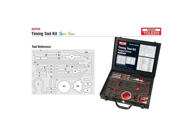 Toledo Timing Tool Kit 304704 Sparesbox - Image 1
