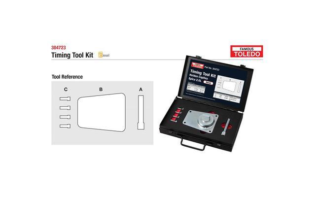 Toledo Timing Tool Kit 304723 Sparesbox - Image 1