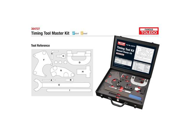 Toledo Timing Tool Kit 304727 Sparesbox - Image 1