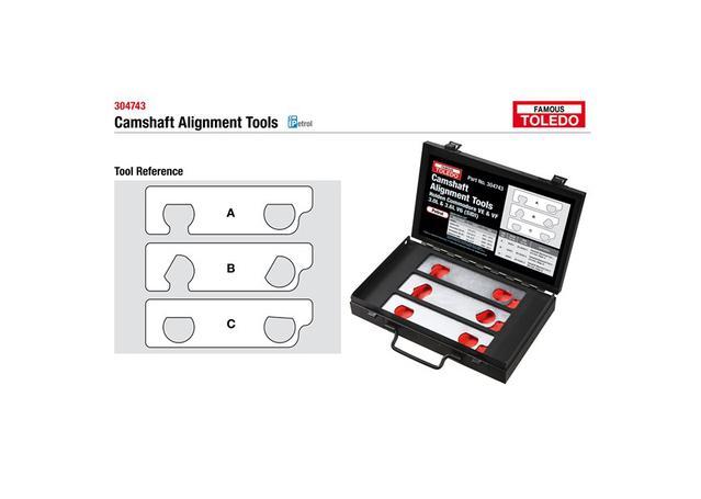 Toledo Camshaft Alignment Tools 304743 Sparesbox - Image 1