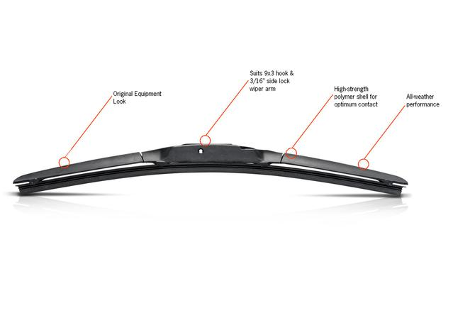 Trico Exact Fit Hybrid Wiper Blade 475mm HF480 Sparesbox - Image 3