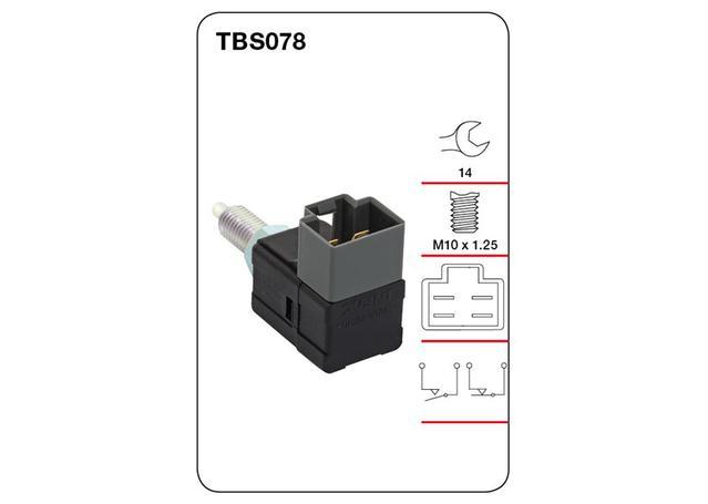 Tridon Brake Light switch TBS078 Sparesbox - Image 1