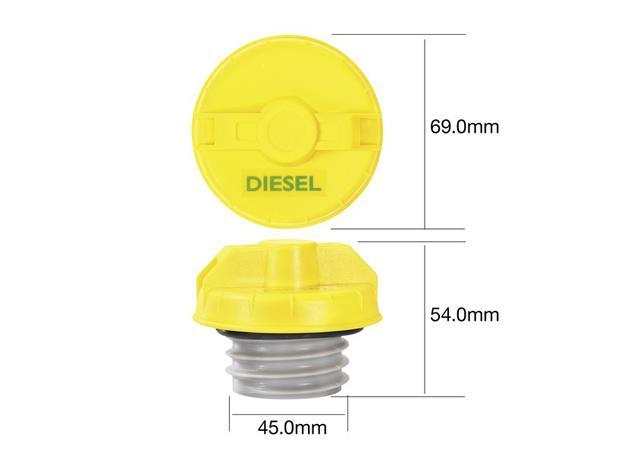 Tridon Non Locking Fuel Cap TFNL234D Sparesbox - Image 1