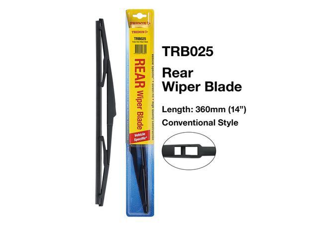 Tridon Rear Wiper Blade TRB025 Sparesbox - Image 2
