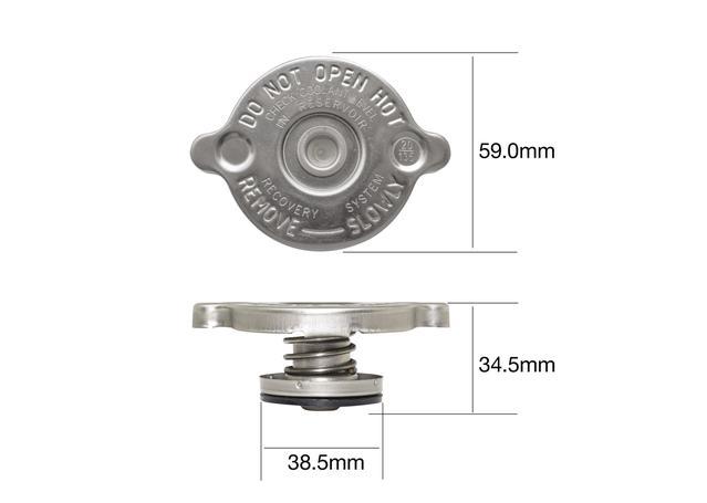 Tridon Radiator Cap CR0430 Sparesbox - Image 1