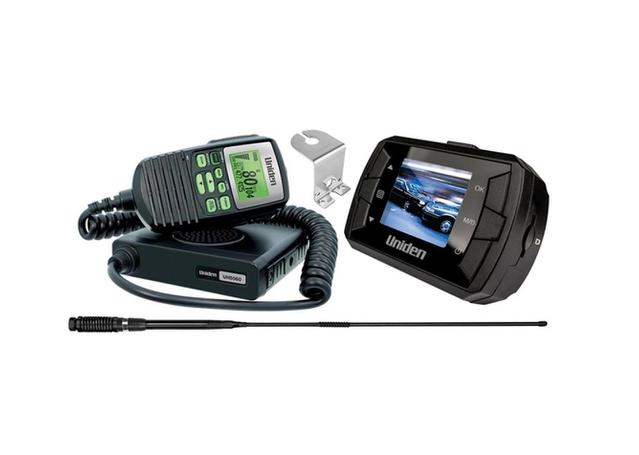 Uniden Ultimate Off-Road Pack UH5060 CB Mobile (80 Channels), AT850BK Mount  Bracket And Full HD Dash Cam