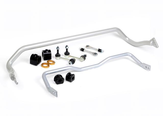 whiteline bfk002 sway bar kit front  u0026 rear 33mm 22mm fits ford falcon fg  fgx 2008
